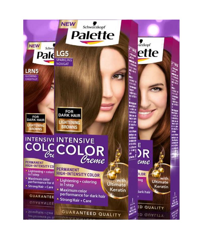 Palette intensive color creme- pre intenzívnu a žiarivú farbu vašich ... 0637da2c055